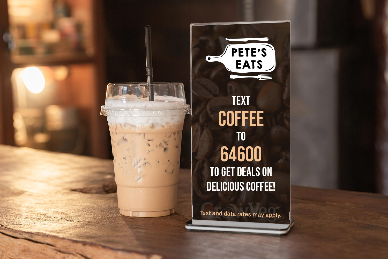 Text marketing segmentation food