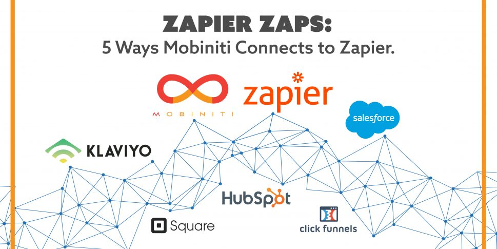The best Zapier Zaps to connect to Mobiniti.