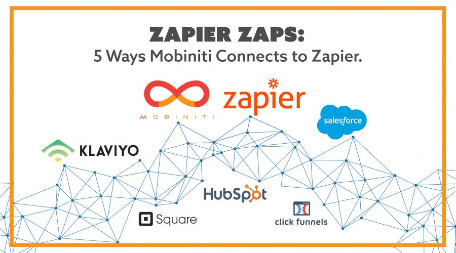 The best Zapier Zaps to use with Mobiniti.