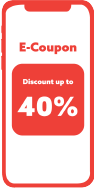 A visual example of a mobile coupon in text marketing.