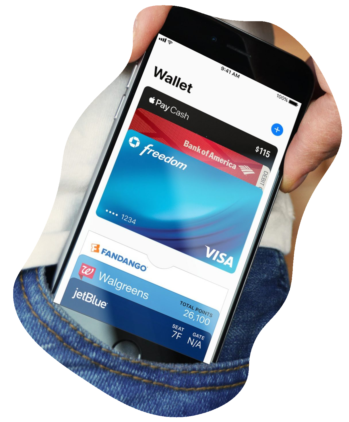 An example of a Mobile Wallet.