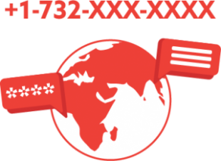 A visual example of international texting for text marketing.