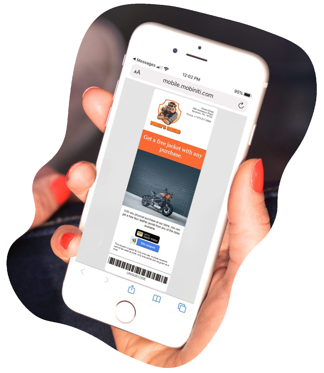 Mobile coupons are the best incentive for driving sales.